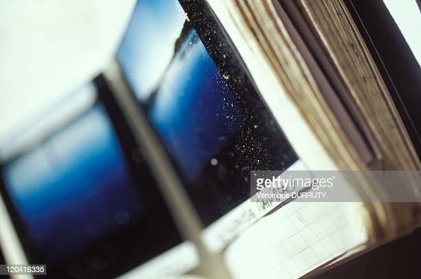 Note book with Polaroid photography's