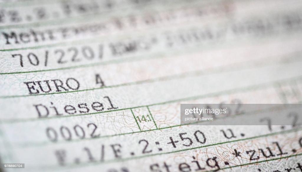 Euro 4 - Diesel : News Photo
