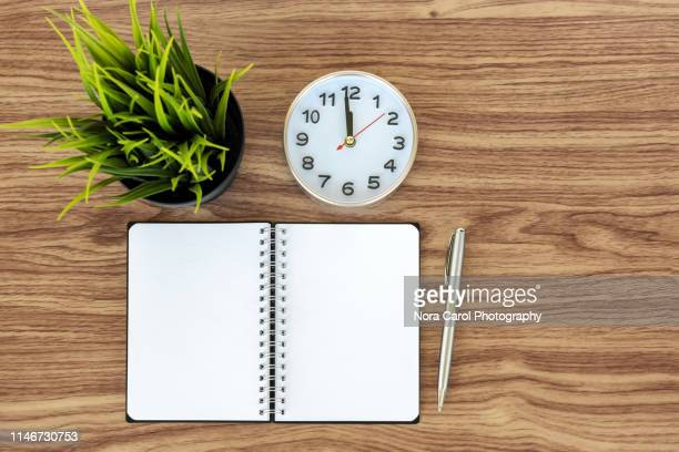 Note pad and Alarm Clock