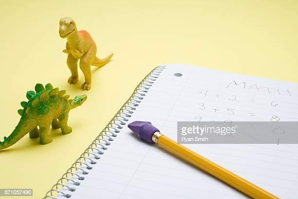 Notebook and Dinosaurs