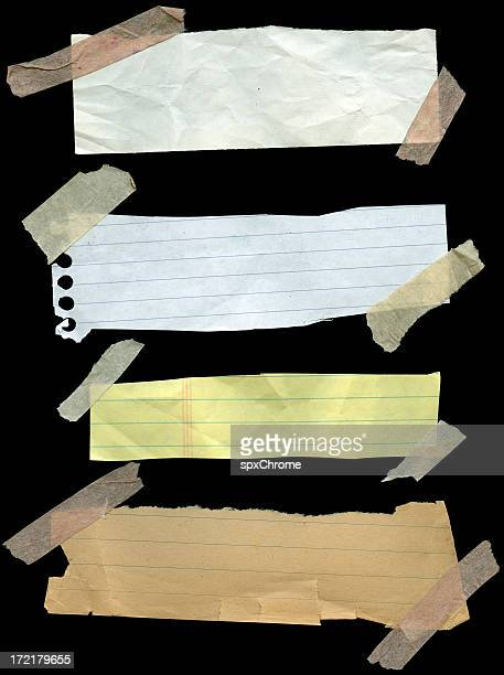 notebook clippings - lined paper stock pictures, royalty-free photos & images