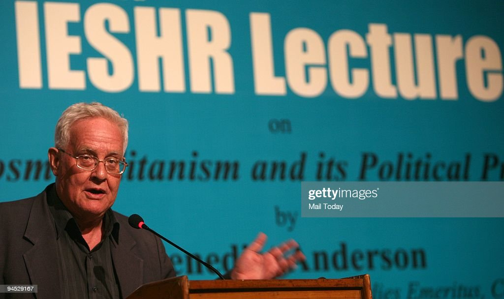 Author Benedict Anderson In Delhi : ニュース写真