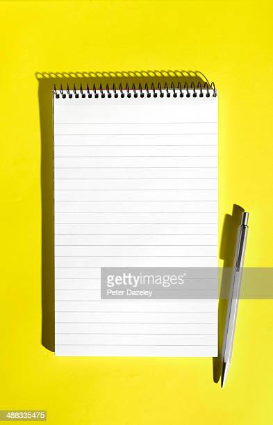 Note-pad with copy space