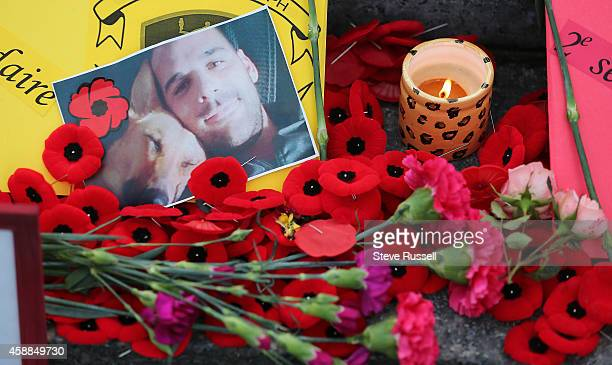 OTTAWA ON NOVEMBER 11 Notes to Cpl Nathan Cirillo and Warrant Officer Patrice Vincent on the Tomb of the Unknown Soldier The nation's capital...