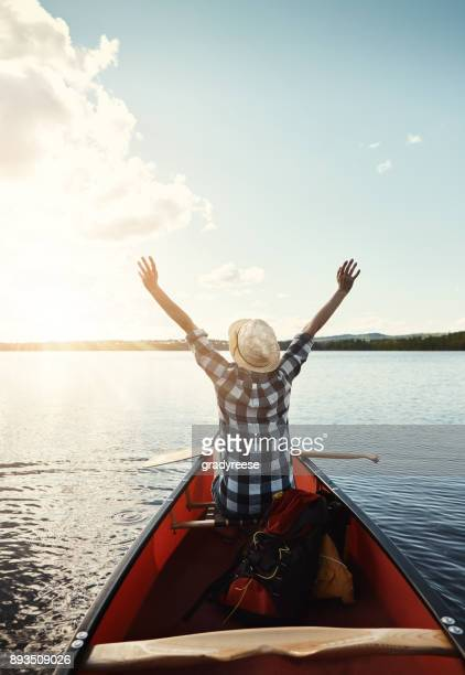 nothing better than a bit of kayaking - kayak stock pictures, royalty-free photos & images