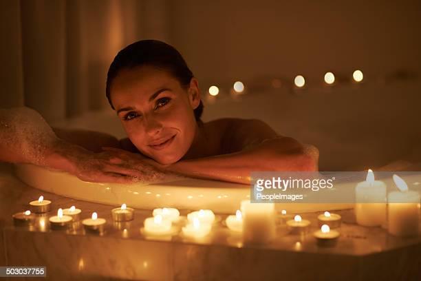 Nichts Besseres als ein heißes Bad zum Entspannen