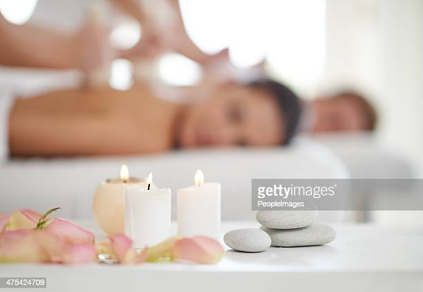 Nothing better than a massage and aroma therapy