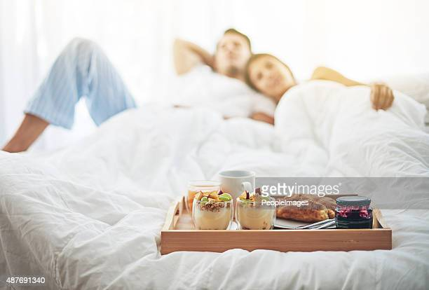 Nothing better than breakfast in bed