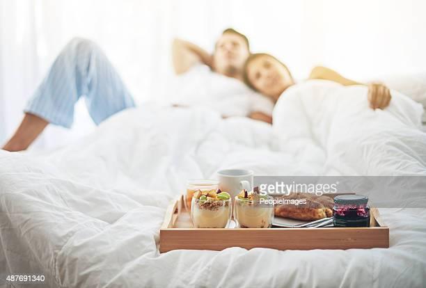 Nichts Besseres als ein Frühstück im Bett