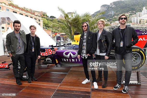 Nothing But Thieves attend the Infiniti Red Bull Racing Energy Station at Monte Carlo on May 21 2015 in Monaco Monaco