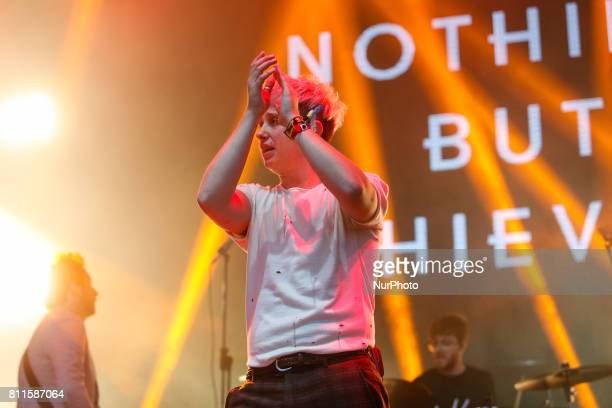 Nothing But Thieves band performs during Atlas Weekend festival events in Kyiv June 29 2017