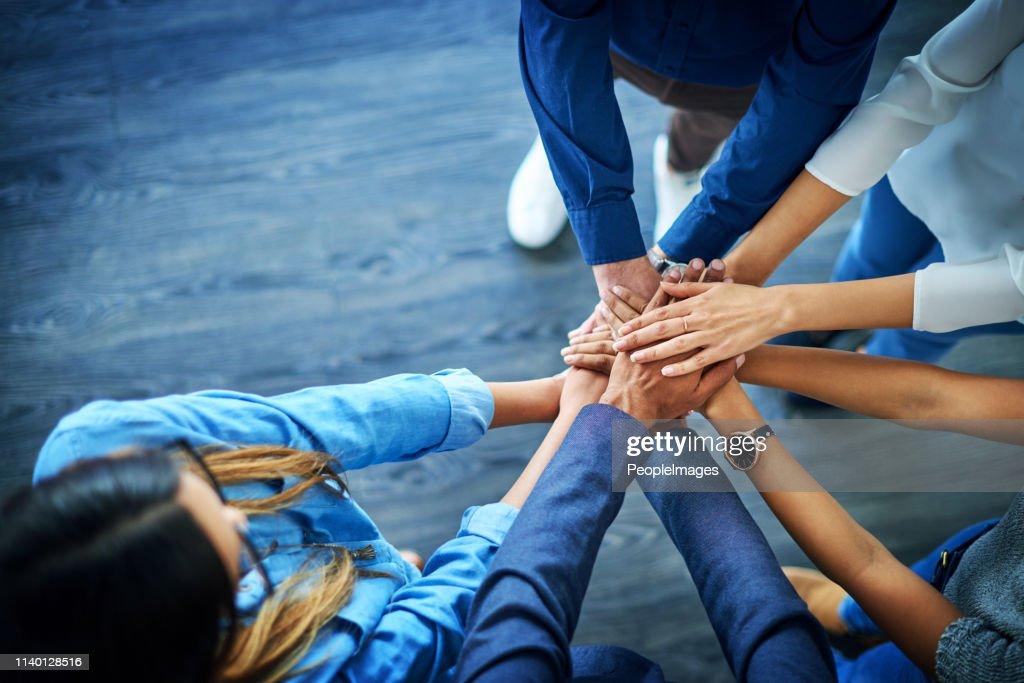 何も団結心を打つことはできない : ストックフォト