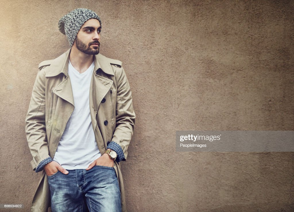 Nothing completes streetwear style than swag : Stock Photo