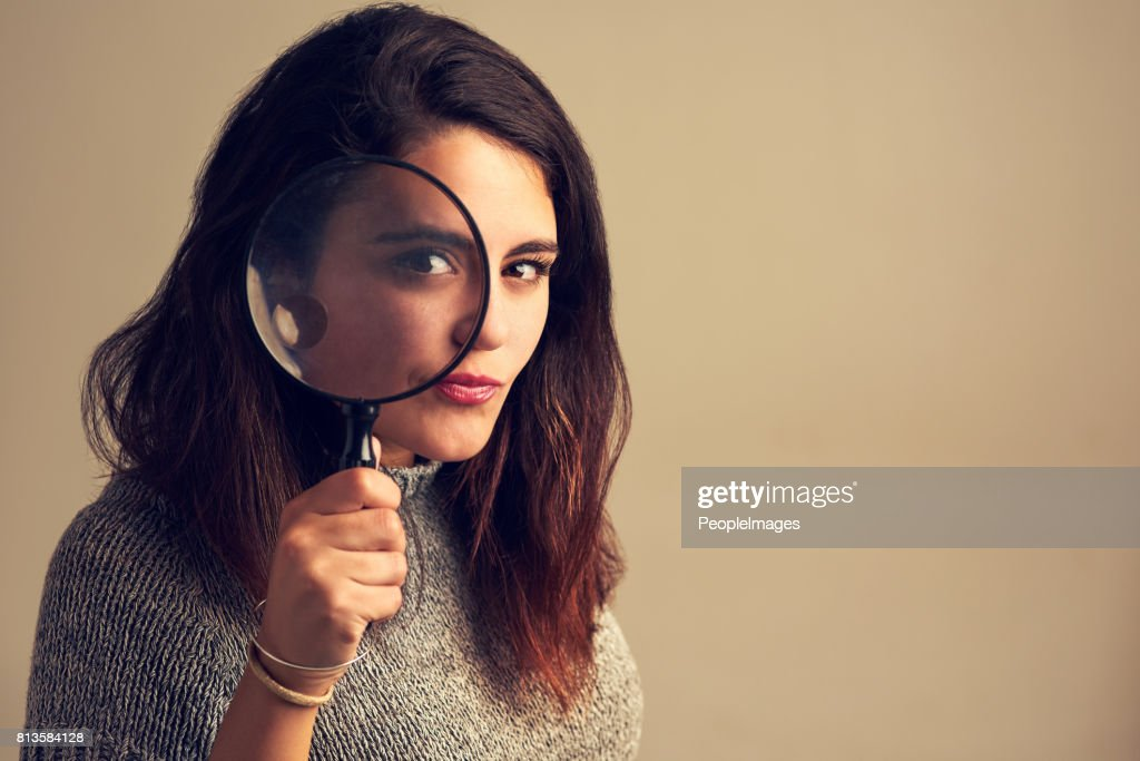 Nothing escapes my eye : Stock Photo