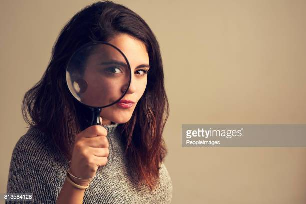 nothing escapes my eye - detective stock pictures, royalty-free photos & images