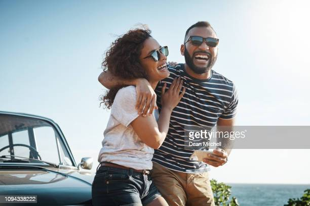 nothing inspires happiness like love - black people laughing stock photos and pictures
