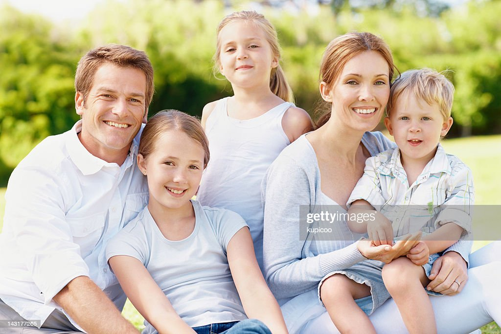Nothing is more important than family : Stock Photo