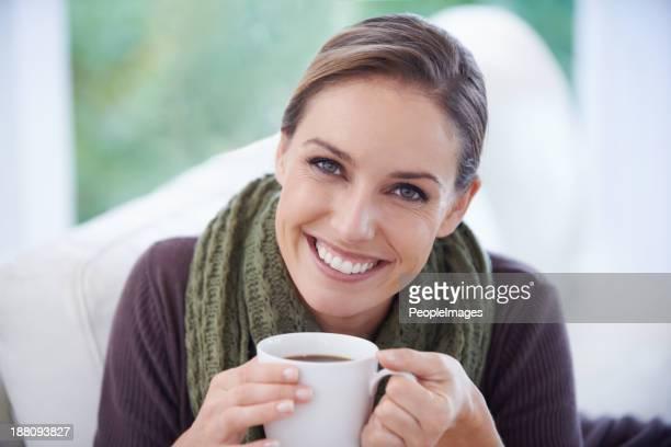 Es geht nichts über eine gute Tasse Kaffee