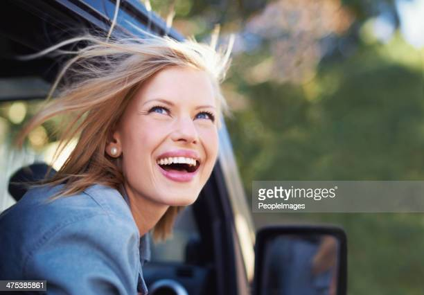 Nothing like the feeling of wind in your hair