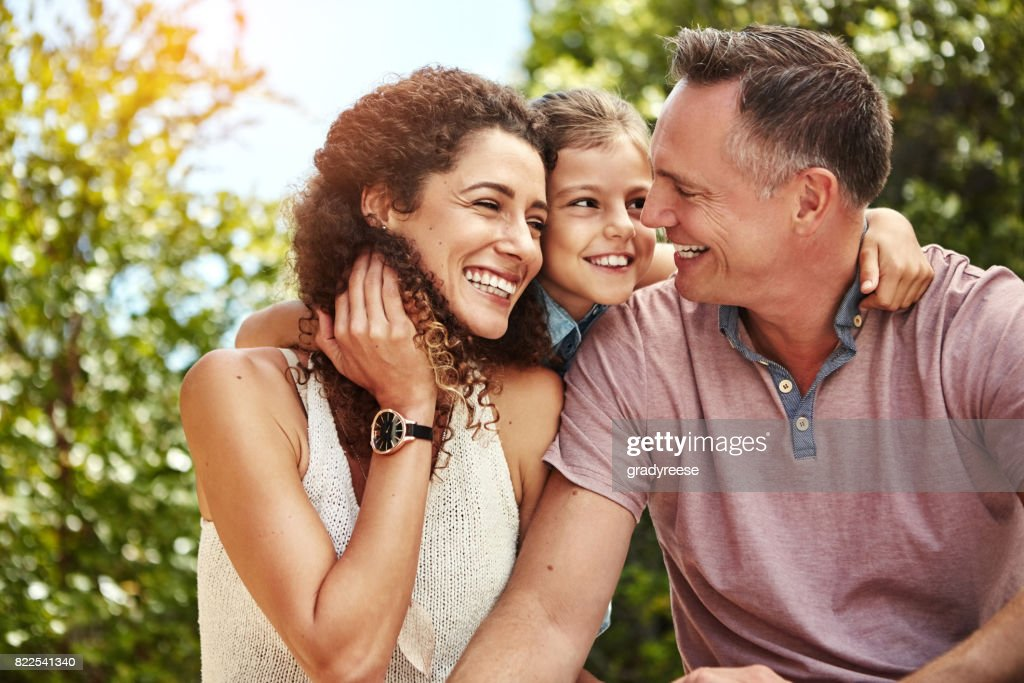 Nothing makes me happier than being around them : Stock Photo