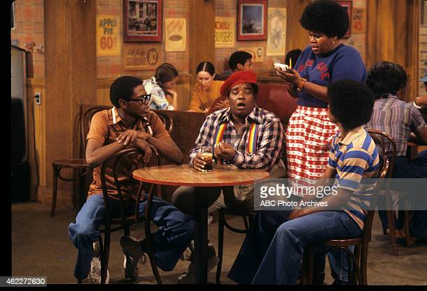 "Nothing Personal"" - Airdate: October 20, 1977. L-R: ERNEST THOMAS;FRED BERRY;SHIRLEY HEMPHILL;HAYWOOD NELSON"