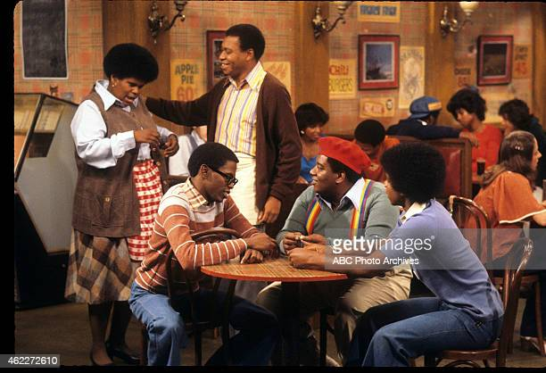 "Nothing Personal"" - Airdate: October 20, 1977. L-R: SHIRLEY HEMPHILL;ERNEST THOMAS;EARL BILLINGS;FRED BERRY;HAYWOOD NELSON"