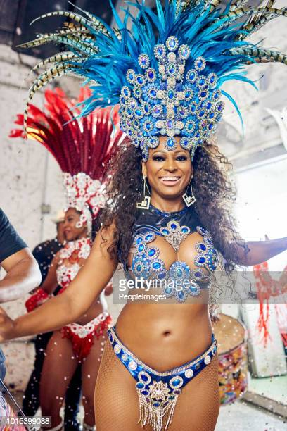 nothing says rio like samba - mardi gras party stock photos and pictures