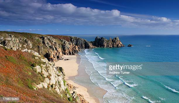 CONTENT] Nothing too technical about this image the view from the cliffs near Porthcurno towards Treen and Logan Rock What really stands out are the...