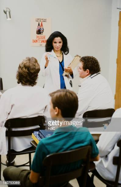 ST ELSEWHERE Nothing Up My Sleeve Episode 8 Pictured France Nuyen as Dr Paulette Kiem Photo by NBCU Photo Bank