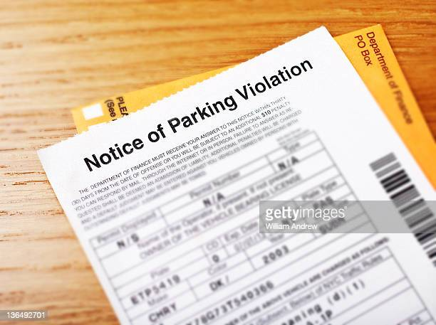 Notice of Parking Violation