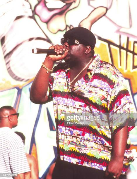 Notorious BIG 1995 Notorious Big in Los Angeles California