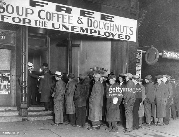Notorious gangster Al Capone attempts to help unemployed men with his soup kitchen 'Big Al's Kitchen for the Needy' The kitchen provides three meals...