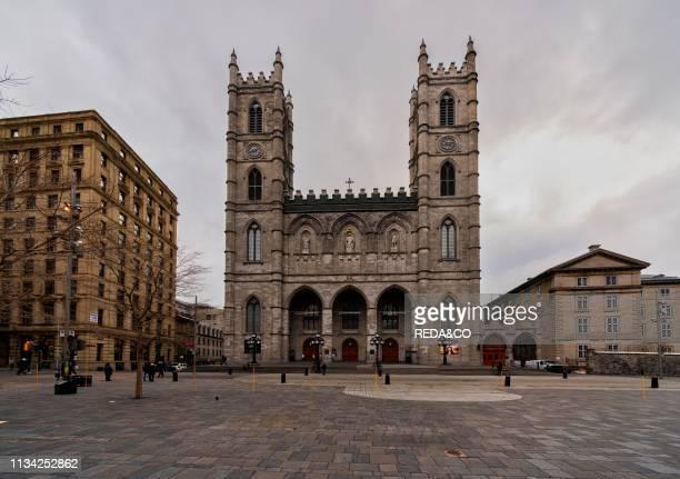 Notre Dame basilica Montreal Quebec Canada