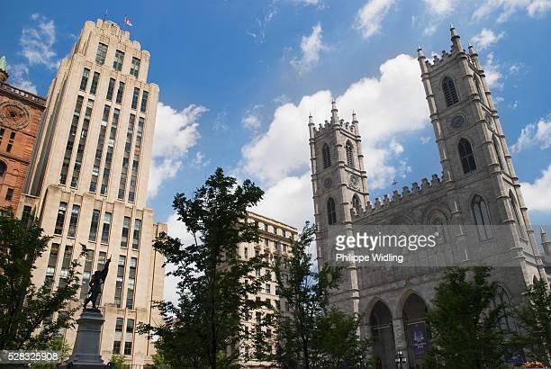 Notre Dame Basilica; Montreal Quebec Canada