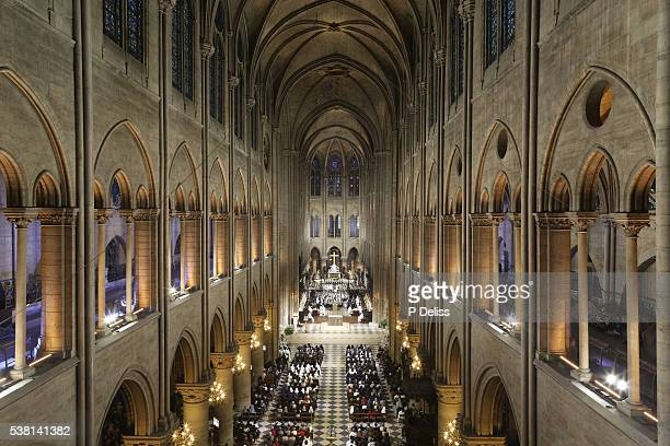 Notre Dame Cathedral nave.