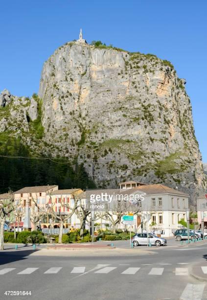 notre dame du roc, provence - alpes de haute provence stock photos and pictures
