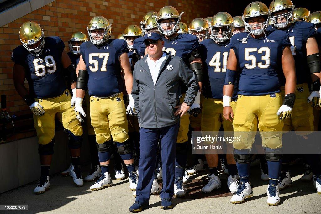 Pittsburgh v Notre Dame : News Photo