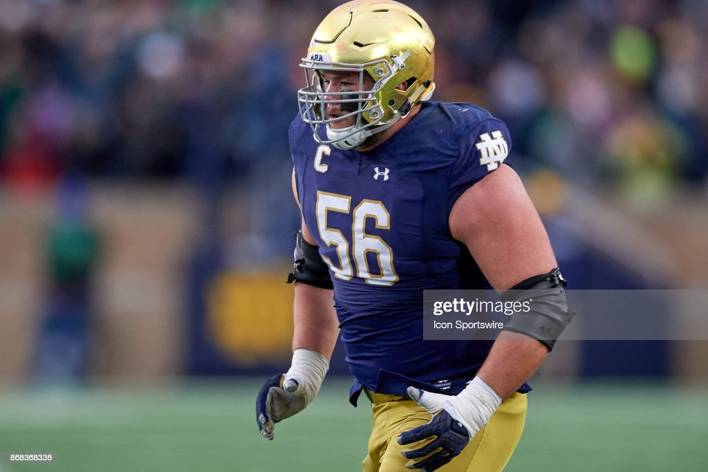 COLLEGE FOOTBALL: OCT 28 NC State at Notre Dame : News Photo