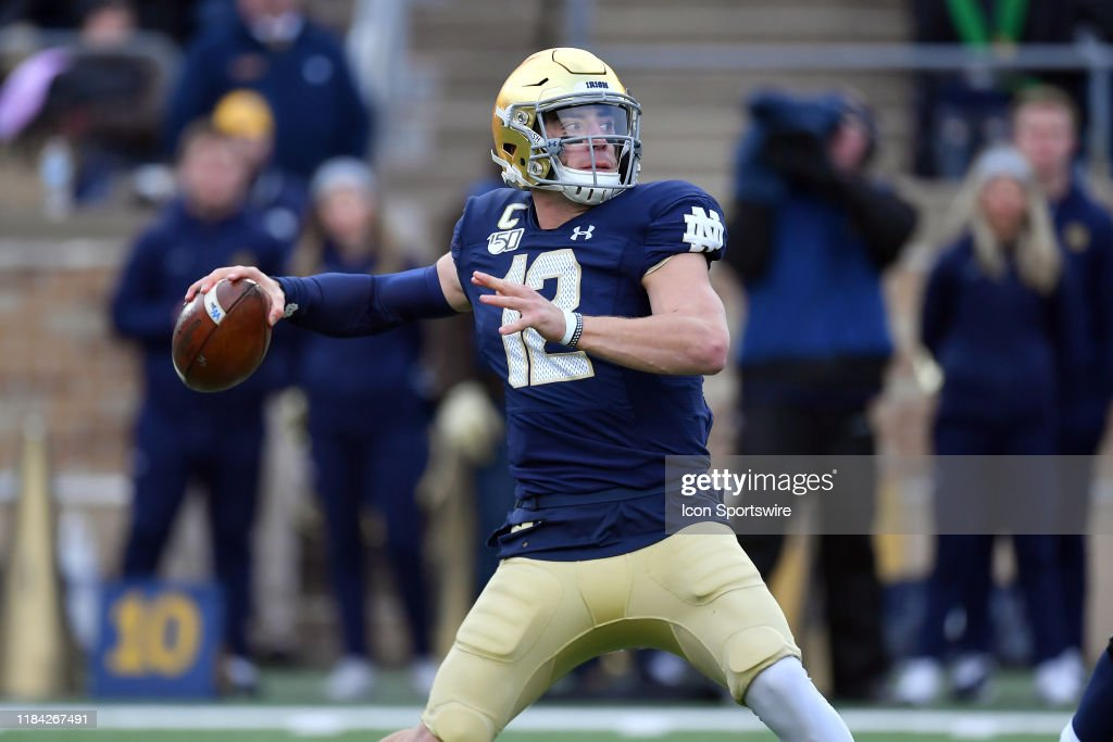 COLLEGE FOOTBALL: NOV 23 Boston College at Notre Dame : News Photo