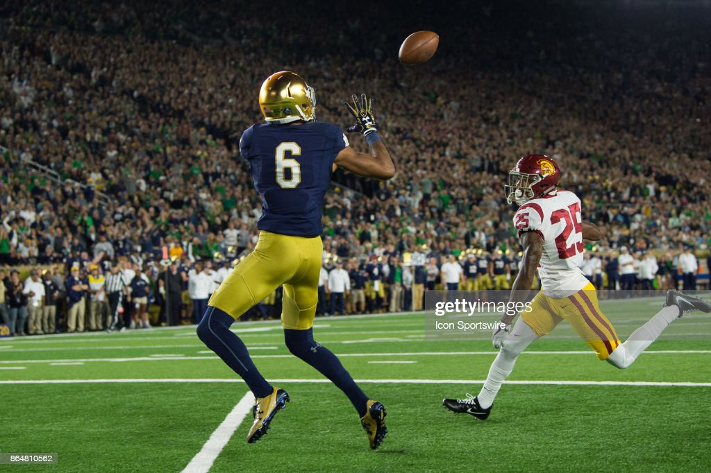 COLLEGE FOOTBALL: OCT 21 USC at Notre Dame : News Photo