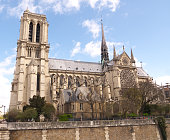 Notre Dame from Across the River