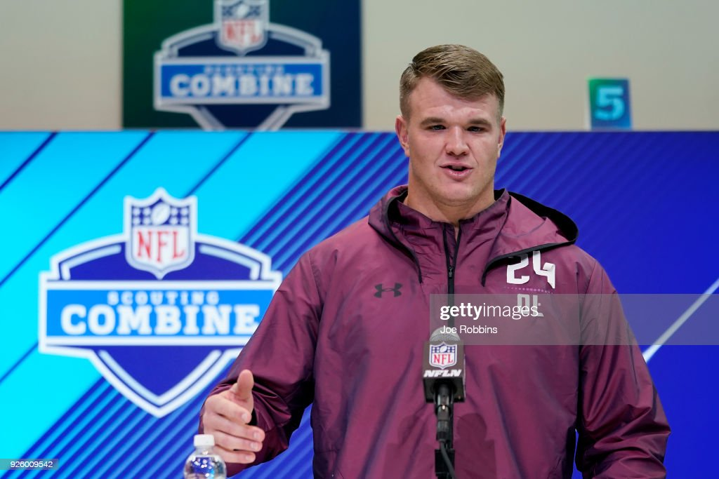 NFL Combine - Day 1 : News Photo