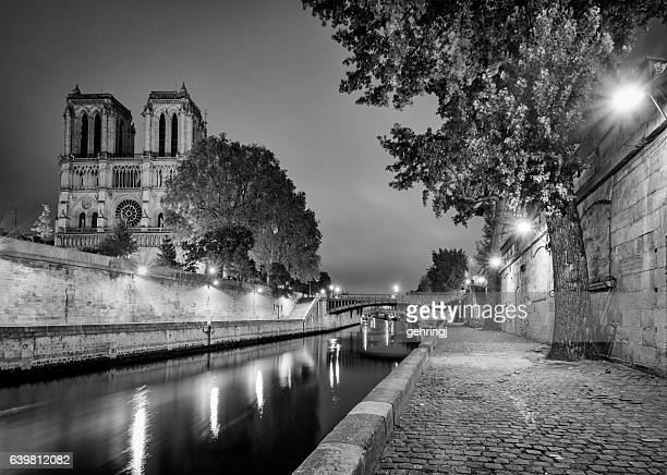 Notre Dame, Paris and River Seine