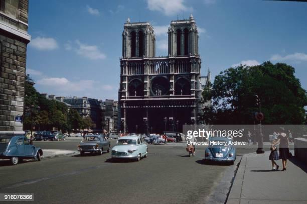 Notre Dame Paris France 1961