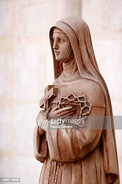 Notre-Dame d'Amiens cathedral. Saint Rita of Cascia.