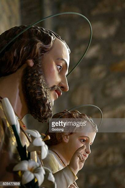 NotreDame de Fatima Church Saint Joseph with the Infant Jesus statue
