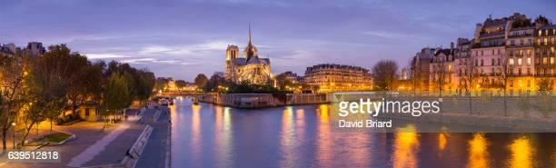 Notre-Dame de Paris at night