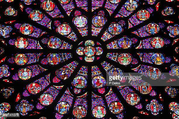 Notre-Dame de Paris cathedral southern rose window