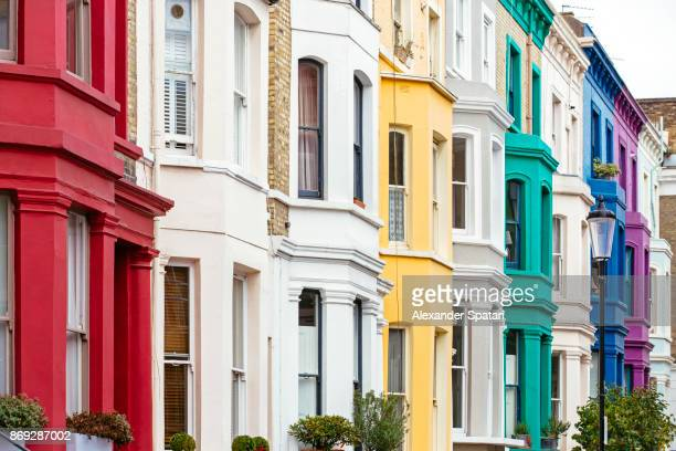 Notting Hill architecture, London, UK