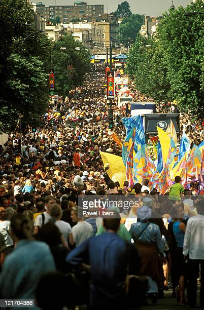 notting hill carnival - notting hill stock pictures, royalty-free photos & images